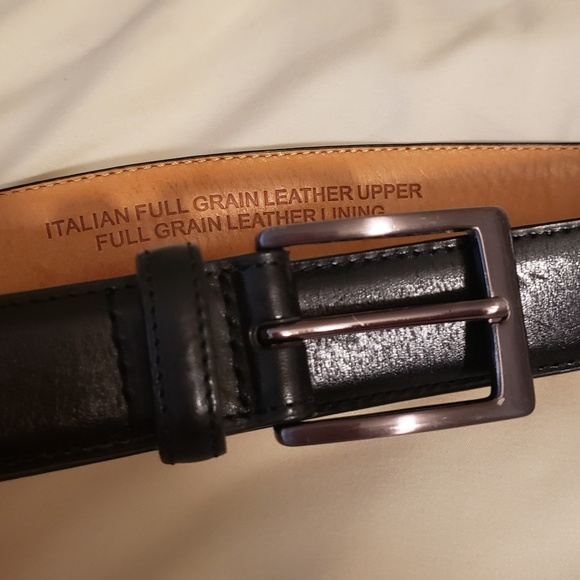 e6ae525b5c4 100% Italian leather mens belt
